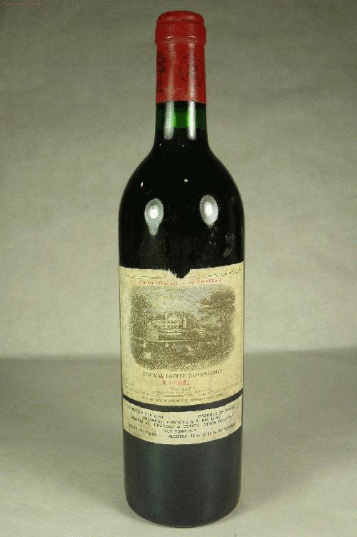 1981 Lafite-Rothschild  Bordeaux BlendWA:91