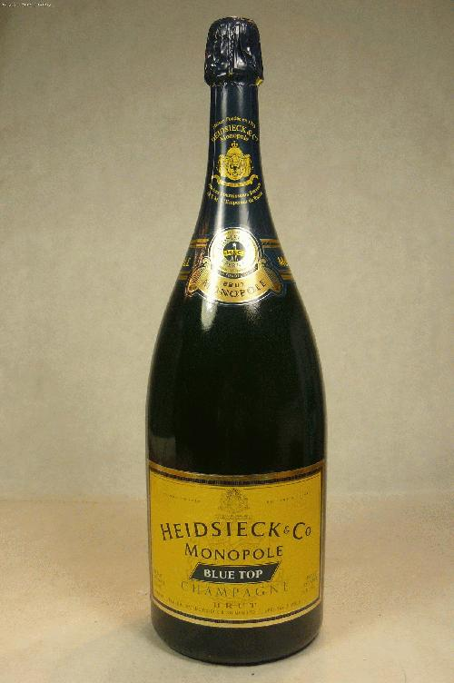 N.V. Heidsieck  & Co. Monopole Brut Blue Top Champagne Blend 1500ml