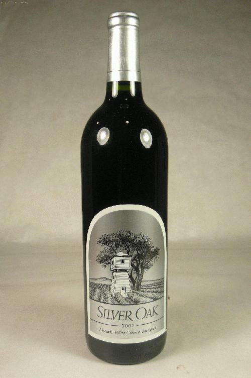 2007 Silver Oak Cellars Cabernet Sauvignon Alexander Valley Cabernet Sauvignon