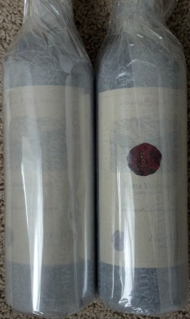 2 Bottles of 2005 Araujo Estate Cabernet Sauvignon Eisele Vineyard Napa