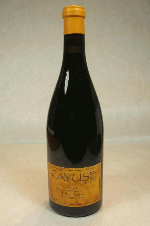 2009 Cayuse Vineyards Syrah Cailloux Vineyard Syrah