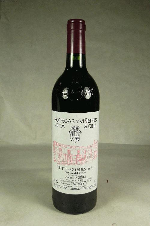 2004 Vega Sicilia Valbuena 5 Year Old Tinto 