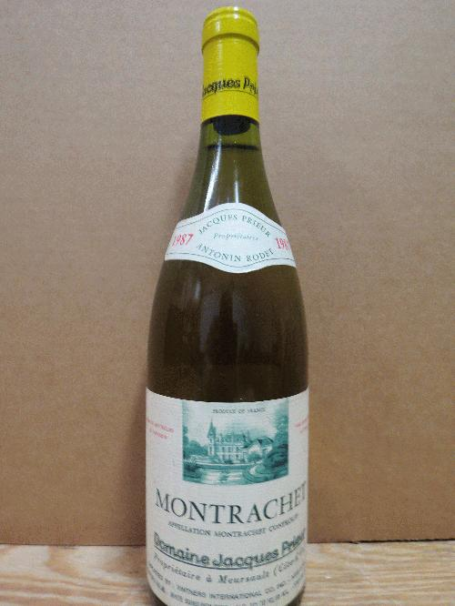 1987 Jacques Prieur Le Montrachet *** Pristine condition, great provenance!!! *** 1st time EVER on the Commune!!! *** See my other white Burg lots********