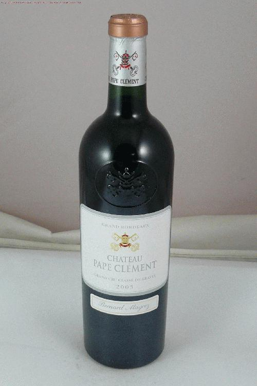 2005 Pape Clement  Bordeaux BlendST:94WA:98WS:96