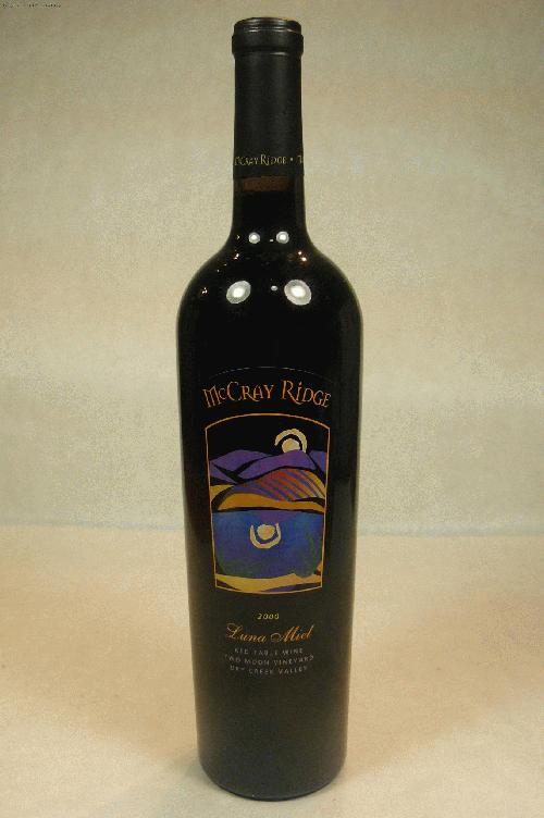 2000 McCray Ridge Luna Miel Two Moon Vineyard Proprietary Blend