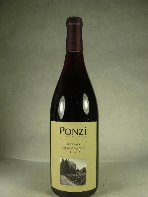 1995 Ponzi Pinot Noir Pinot Noir
