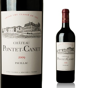 2009 Pontet-Canet RP 100 (lowest price in the country)