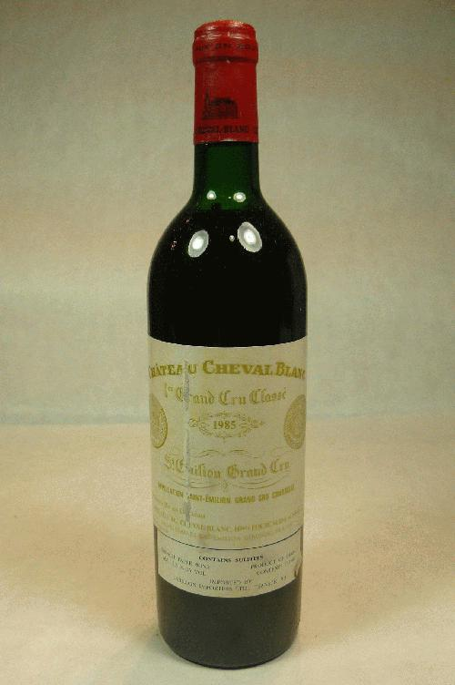 1985 Cheval Blanc  Bordeaux BlendWS:92WA:93