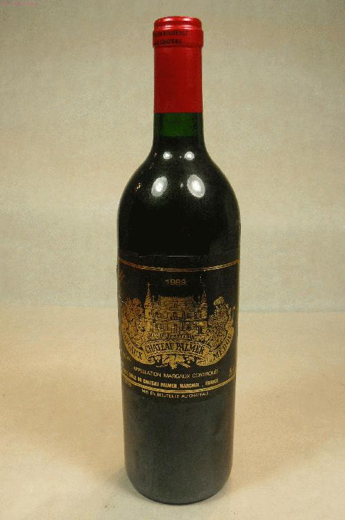 1989 Chateau Palmer  Bordeaux BlendWA:96WS:92