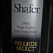 2003 Shafer Vineyards Cabernet Sauvignon Hillside Select RP95 ST 93