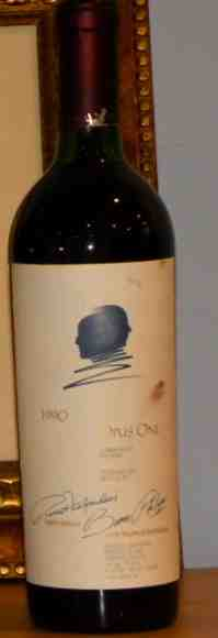 1990 Opus One Proprietary Red Wine Napa