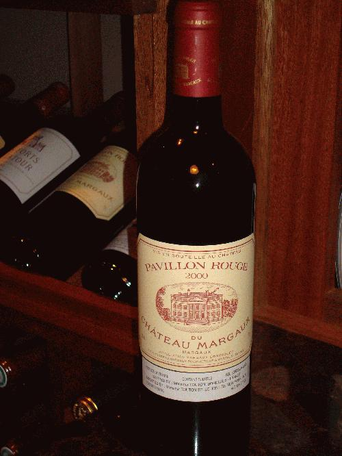 2000 Chateau Margaux Pavillon Rouge **PRISTINE**SEE MY OTHER LOTS**