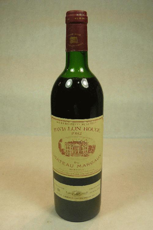 1982 Margaux, Pavillon Rouge du Chateau  Bordeaux BlendWS:92