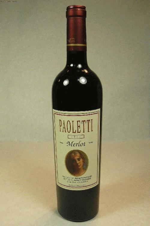1992 Gianni Paoletti Merlot Merlot