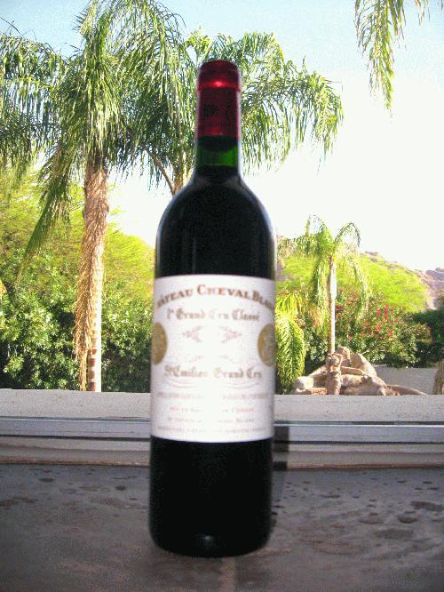 1998 Cheval Blanc *** WINE SPECTATOR 98 POINTS!!! *** $1 START *** DON'T MISS CHANCE TO STEAL A LEGEND!!!! *** See my other lots!!!!