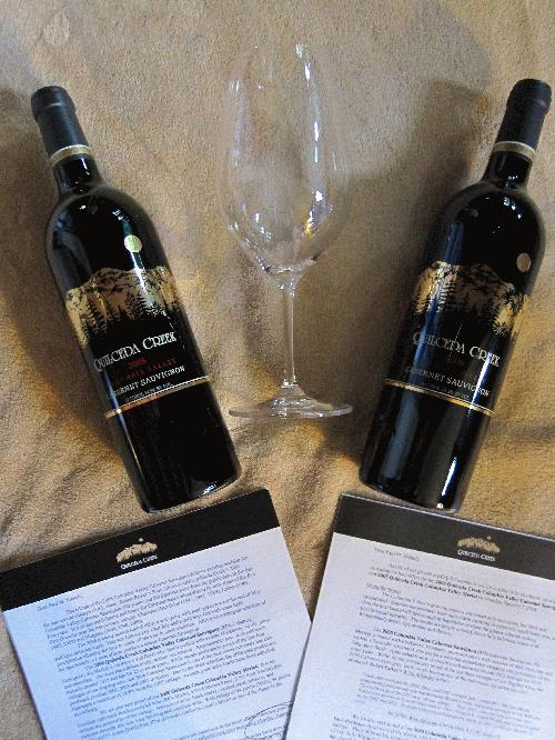 QUILCEDA CREEK - 2006 (99 POINTS) & 2007 (100 POINTS) - 2 Bottle Lot