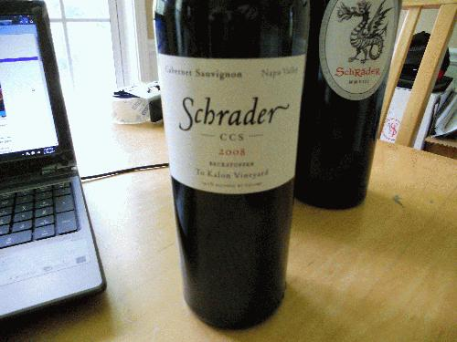 2008 Schrader Cellars Cabernet Sauvignon CCS Beckstoffer To Kalon 100POINTS PERFECT BOTTLE/ SEE MY OTHER LOTS FOR MORE