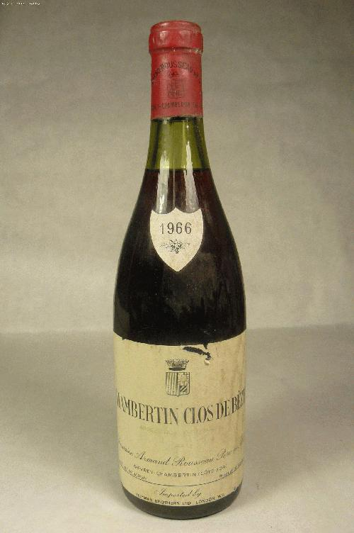 1966 Rousseau, Domaine Armand Chambertin Clos de Beze Grand Cru Pinot Noir