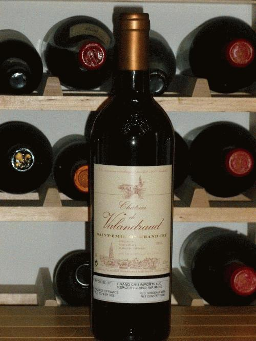 "1998 Valandraud   **  3  PERFECT BOTTLES FROM ORIGINAL WOOD CASE AVAILABLE  **  ""...The Le Pin of St. Emilion.""  - R. Parker ** TASTE A LE PIN WITHOUT SPENDING $2500"