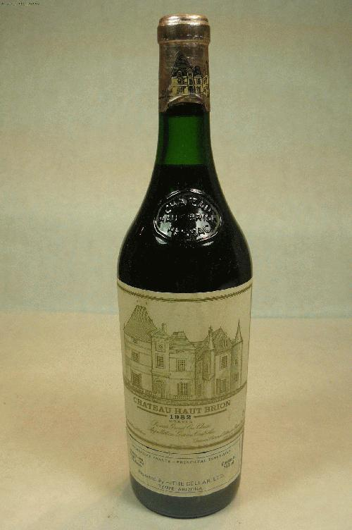 1982 Haut Brion  Bordeaux BlendWA:95ST:96WS:95