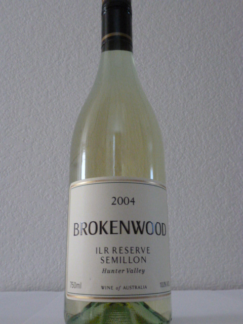 2004 Brokenwood Semillon ILR Aged Reserve  - 91 WA and 91WS!