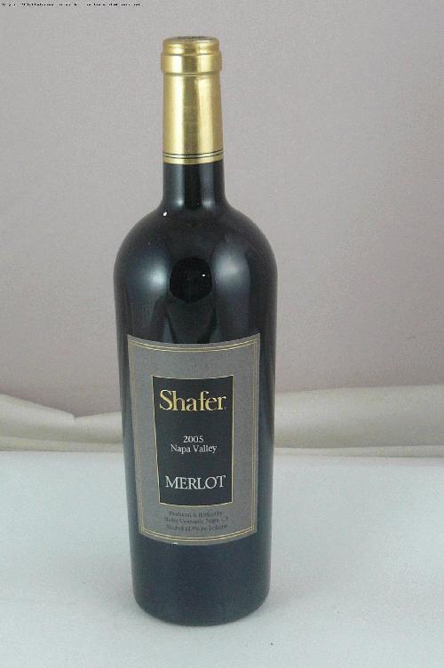 2005 Shafer Vineyards Merlot Merlot