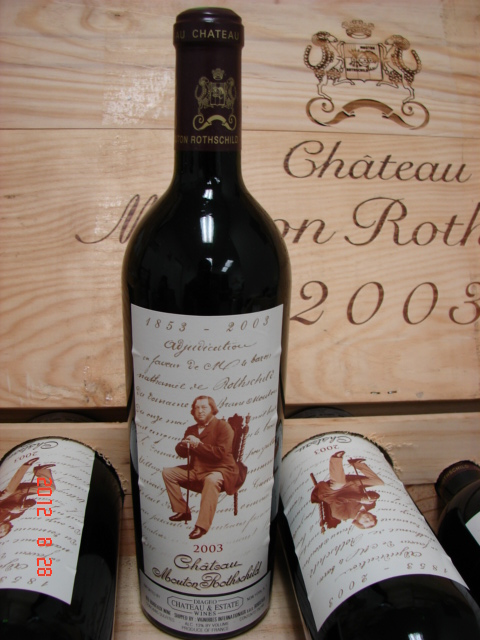 2003 Mouton-Rothschild   *** Perfect  Condition ***