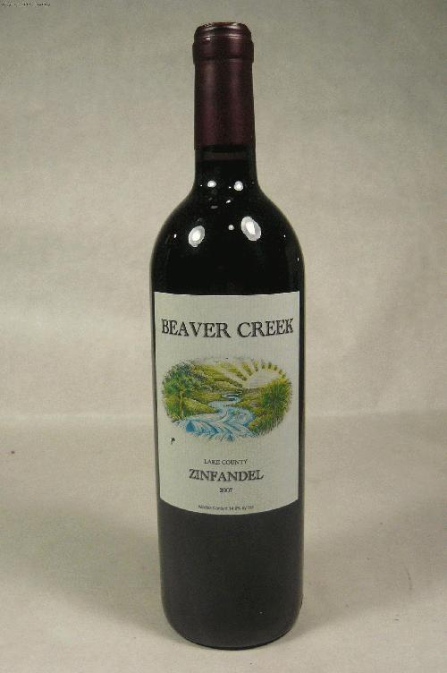 2007 Beaver Creek Zinfandel Lake County Zinfandel