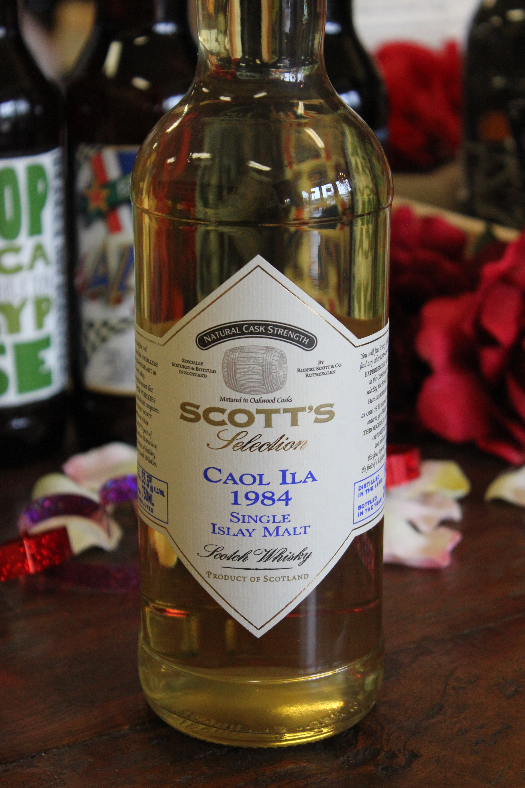 Caol Ila Vintage 1984 53.5% Scotch Whisky Bottled by Scott's