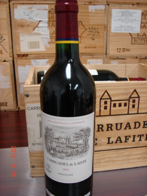 2003 Chateau Lafite-Rothschild Carruades de Lafite *** Perfect  Condition ***