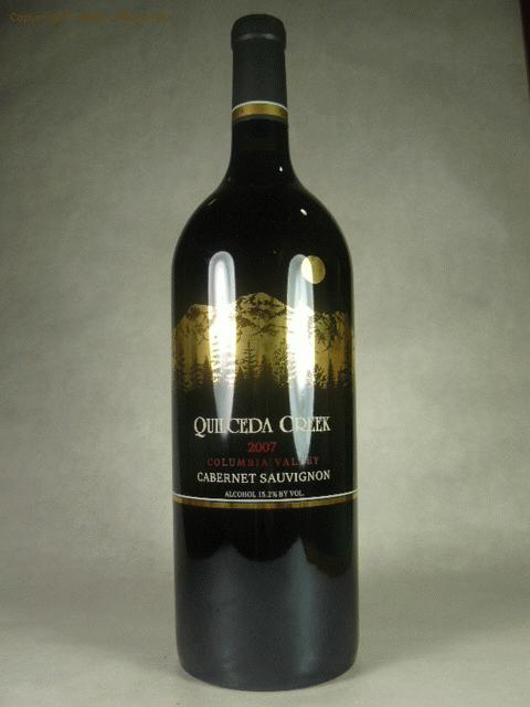 2007 Quilceda Creek Cabernet Sauvignon***WA100, IWC95, WE96***(((MAGNUM)))  