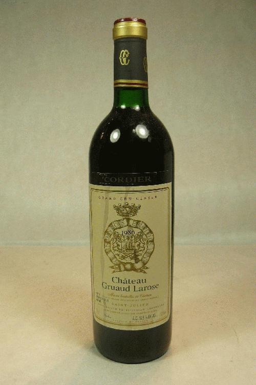 1996 Gruaud Larose  Bordeaux BlendWS:90