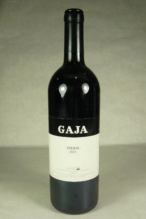 2003 Gaja Sperss NebbioloWS:98ST:92WA:93