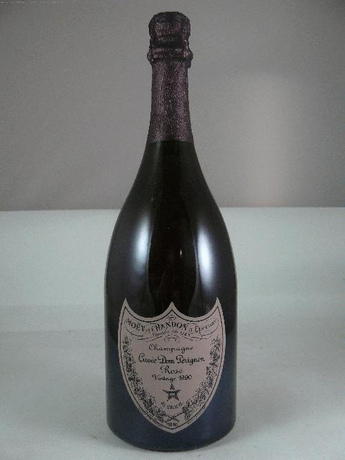 1990 Moet Chandon Dom Perignon Rose Champagne BlendWS:92