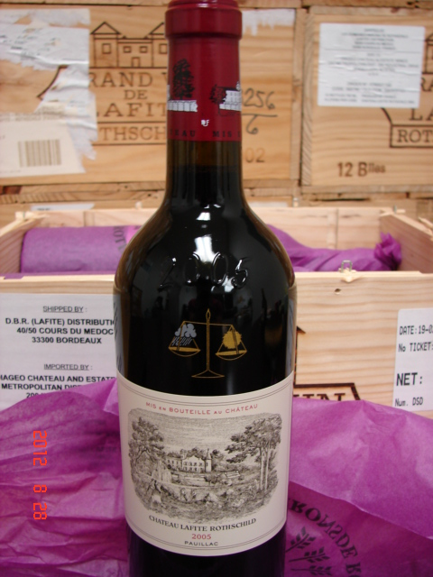 2005 Lafite-Rothschild   *** Perfect  Pristine  Condition ***