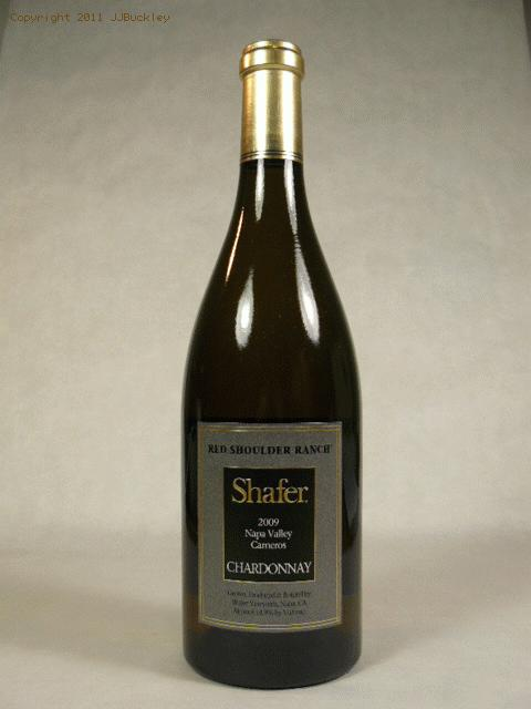 2009 Shafer Vineyards Chardonnay Red Shoulder Ranch ChardonnayWA:91WS:93WE:96CG:90ST:90