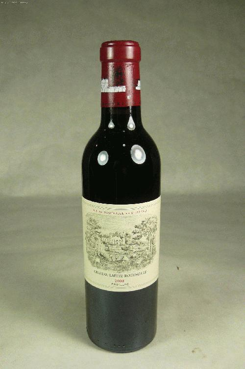 2008 Lafite-Rothschild  Bordeaux Blend 375mlNM:97WA:98WE:97WS:92