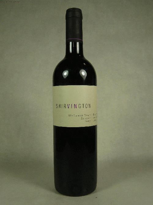 2003 Shirvington Shiraz SyrahWA:96