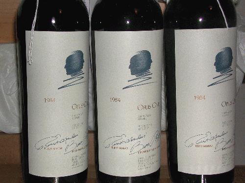 1984 Opus One Proprietary Red Wine Napa