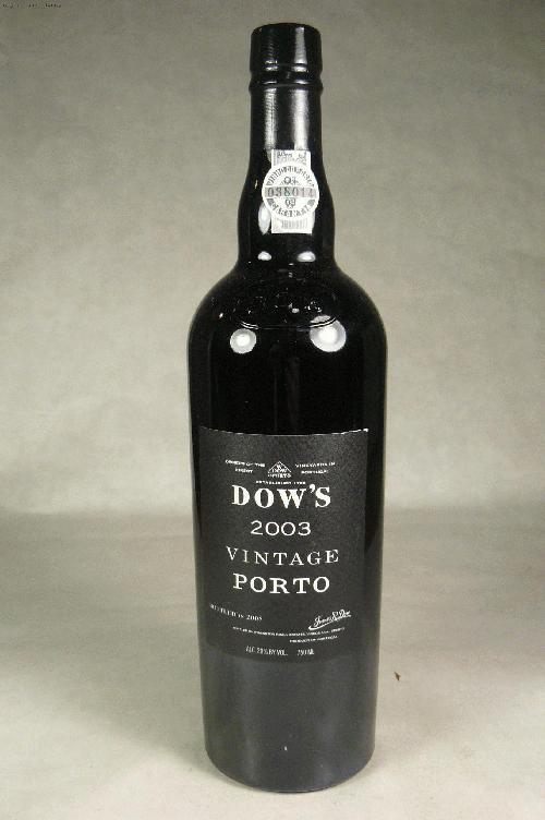 2003 Dow Vintage Port PortWS:93ST:92WE:93WA:94