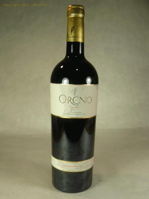 2008 Sette Ponti Oreno Proprietary Red Wine Proprietary BlendWS:96WA:96