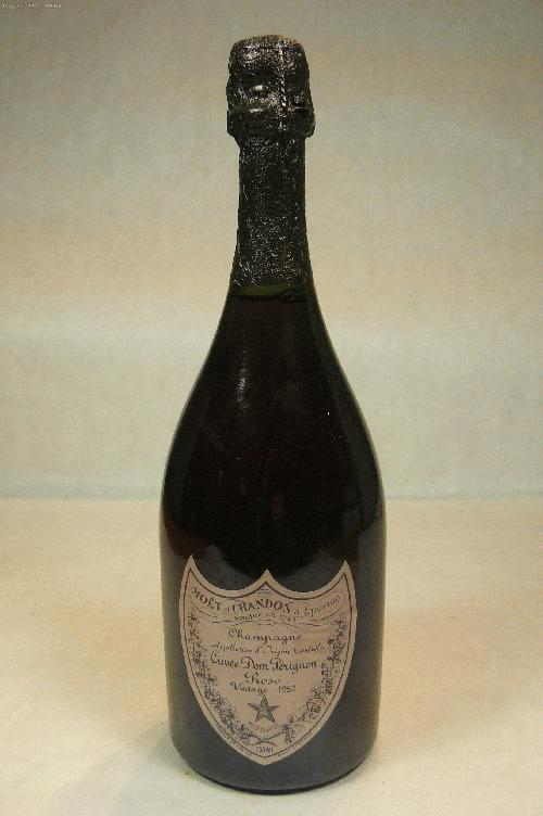 1982 Moet Chandon Dom Perignon Rose Champagne BlendWS:92