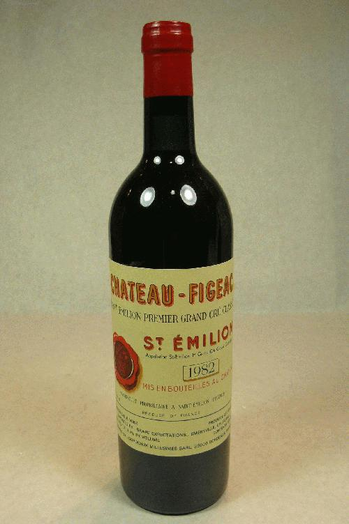 1982 Figeac  Bordeaux BlendWA:94WS:93