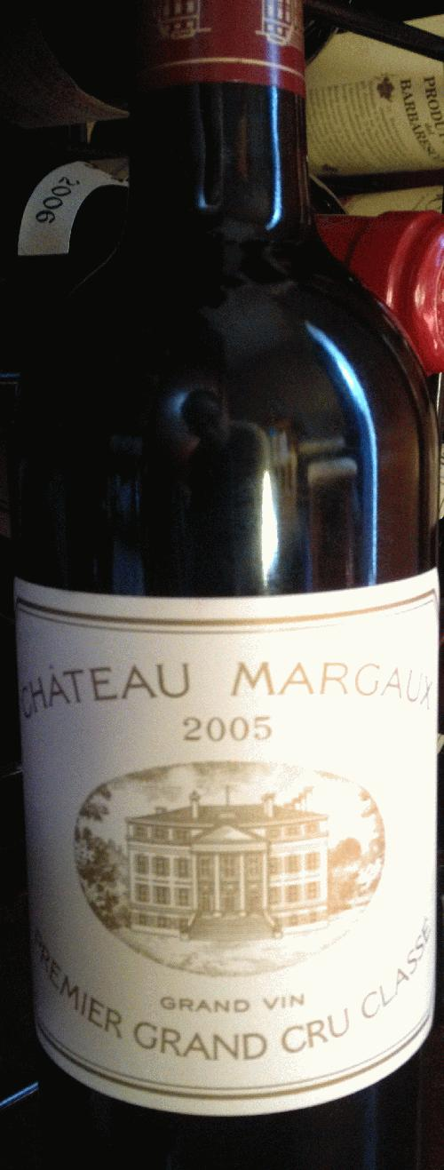 2005 Margaux, Chateau 100pts WS, 98 ST