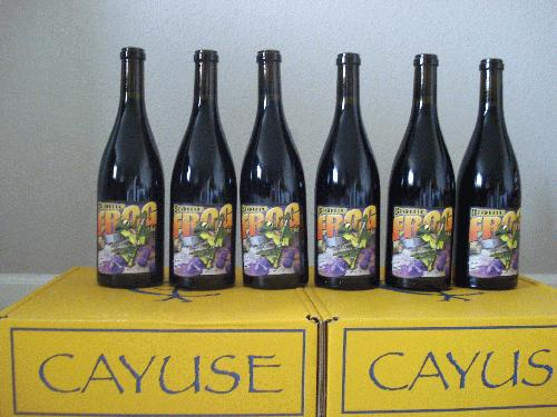 2008 Cayuse Vineyards Syrah Bionic Frog Walla Walla