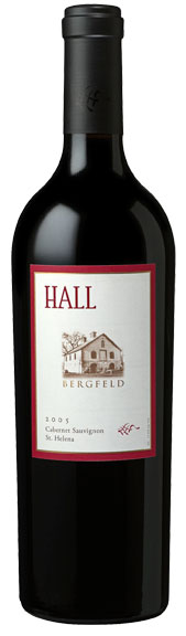 2005 Hall Vineyards Bergfeld Cabernet Sauvignon ** WS93 **