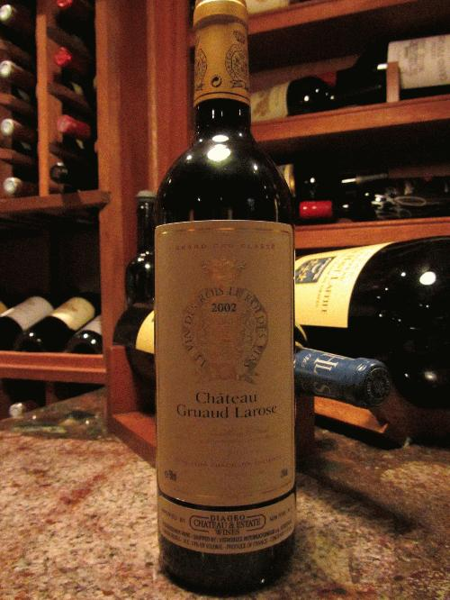 2002 Chateau Gruaud Larose **NO RESERVE**SEE MY OTHER LOTS**