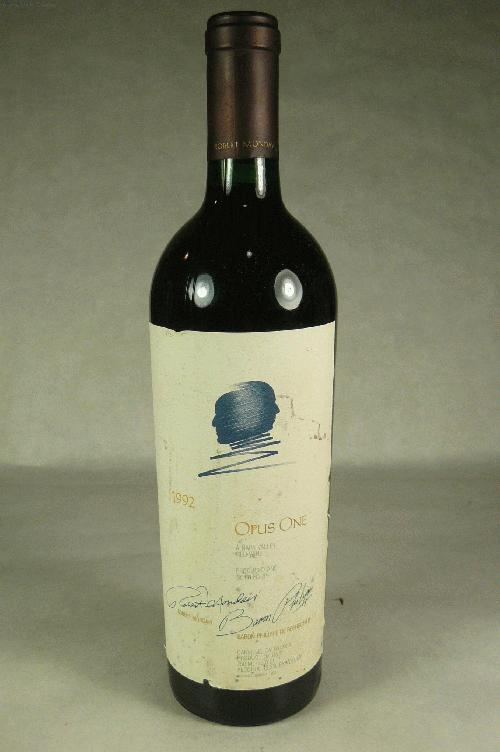 1992 Opus One Proprietary Red Wine Proprietary BlendWS:92WA:92