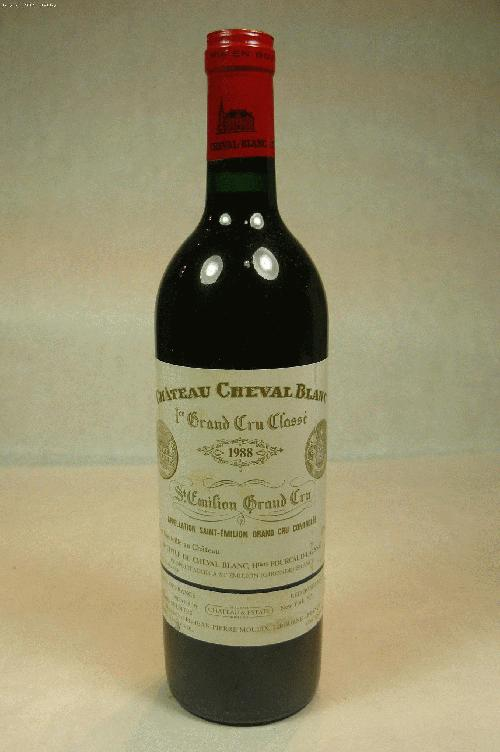 1988 Cheval Blanc  Bordeaux BlendWS:92