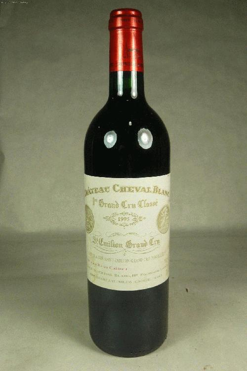 1995 Cheval Blanc  Bordeaux BlendWS:92WA:92